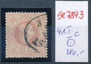 Österreich Nr. 41 I  c o    (se 7873 ) siehe Bild