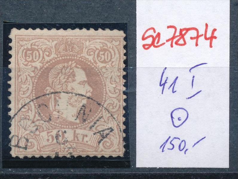 Österreich Nr. 41 I   o    (se 7874 ) siehe Bild 0