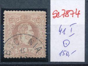 Österreich Nr. 41 I   o    (se 7874 ) siehe Bild