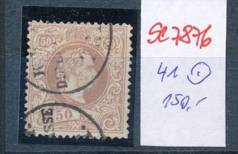 Österreich Nr. 41 I   o    (se 7876 ) siehe Bild