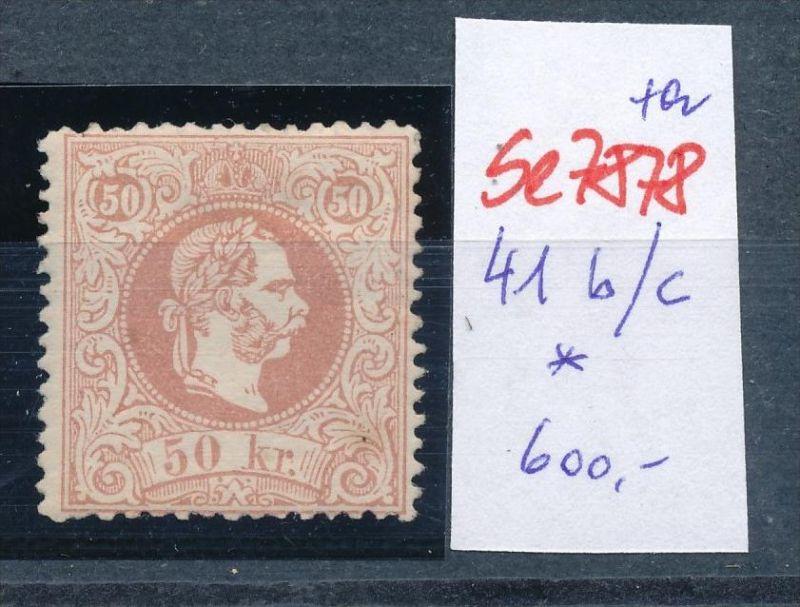 Österreich Nr. 41 I  b/c ? *    (se 7878 ) siehe Bild 0