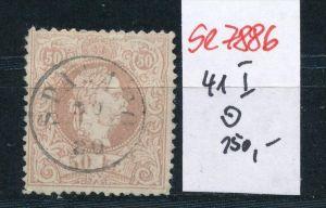 Österreich Nr. 41 I  o    (se 7886 ) siehe Bild