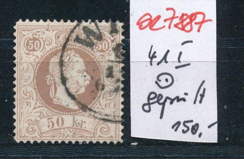 Österreich Nr. 41 I  o    (se 7887 ) siehe Bild