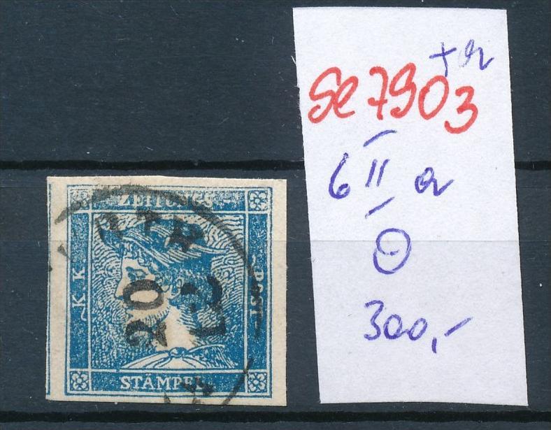 Österreich Nr. 6 IIa   o    (se 7903 ) siehe Bild