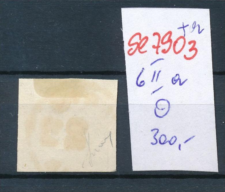 Österreich Nr. 6 IIa   o    (se 7903 ) siehe Bild 1