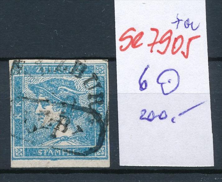 Österreich Nr. 6 I   o    (se 7905 ) siehe Bild