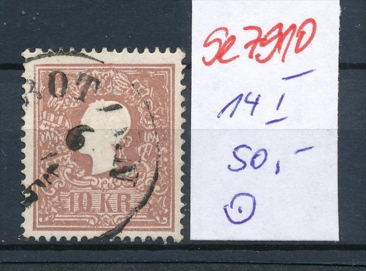 Österreich Nr. 14 I   o    (se 7910 ) siehe Bild 0