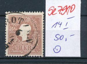 Österreich Nr. 14 I   o    (se 7910 ) siehe Bild