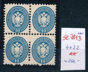 Österreich -Levante Nr. 4x 22  **    (se 7813 ) siehe Bild