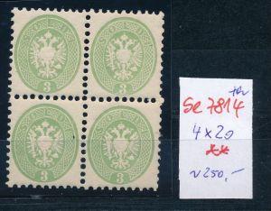 Österreich -Levante Nr. 4x 20  **    (se 7814 ) siehe Bild