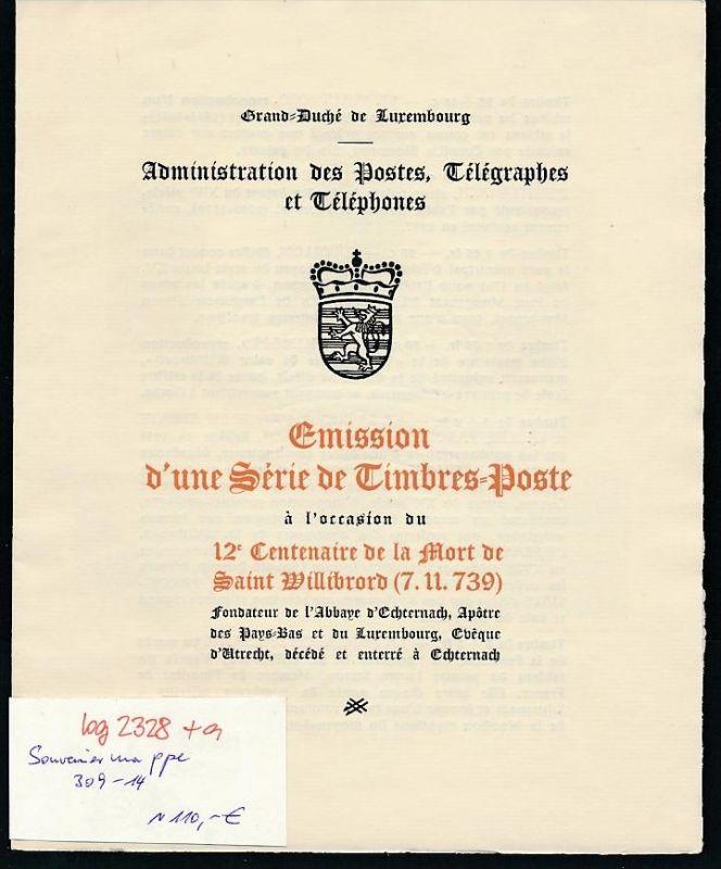 Luxemburg  Souvenier Mappe 309-14   ( bg2328 ) siehe scan !