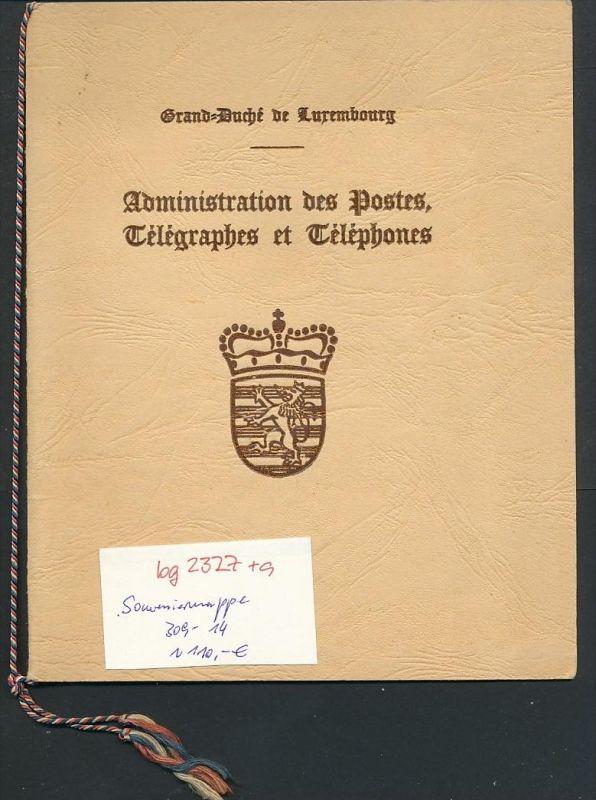 Luxemburg  Souvenier Mappe 309-14   ( bg2327 ) siehe scan ! 0