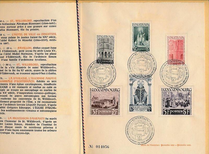 Luxemburg  Souvenier Mappe 309-14   ( bg2327 ) siehe scan ! 1
