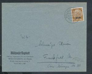 Esaß -Stempel Heimat Beleg  ( ze7069 ) siehe scan !