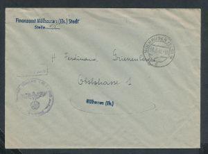 Esaß -Stempel Heimat Beleg  ( ze7067 ) siehe scan !
