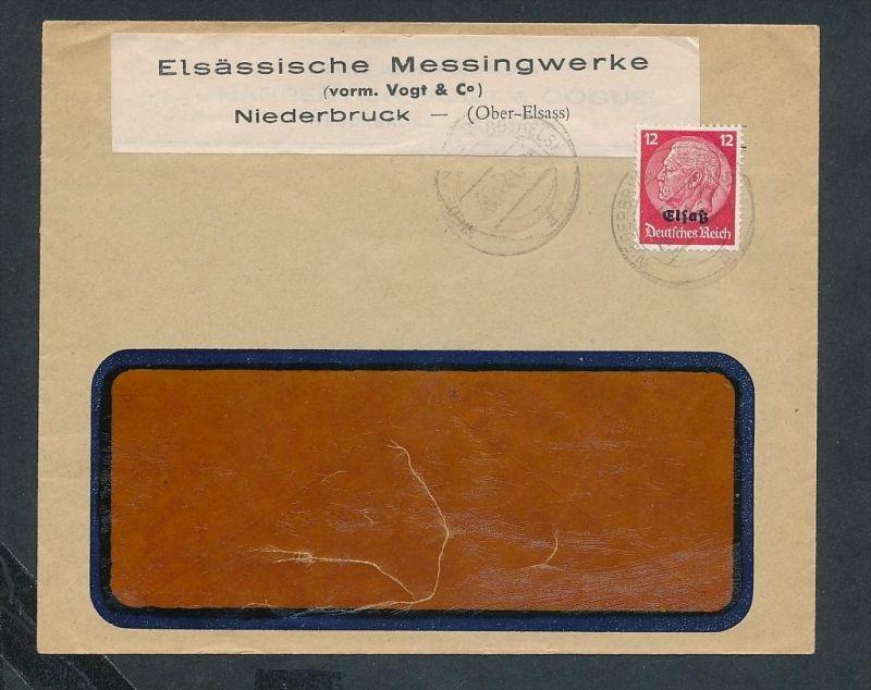 Esaß -Stempel Heimat Beleg  ( ze7064 ) siehe scan !