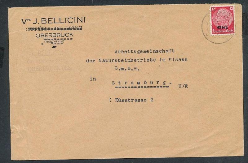 Esaß -Stempel Heimat Beleg  ( ze7063 ) siehe scan !
