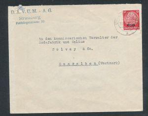 Esaß -Stempel Heimat Beleg  ( ze7058 ) siehe scan !