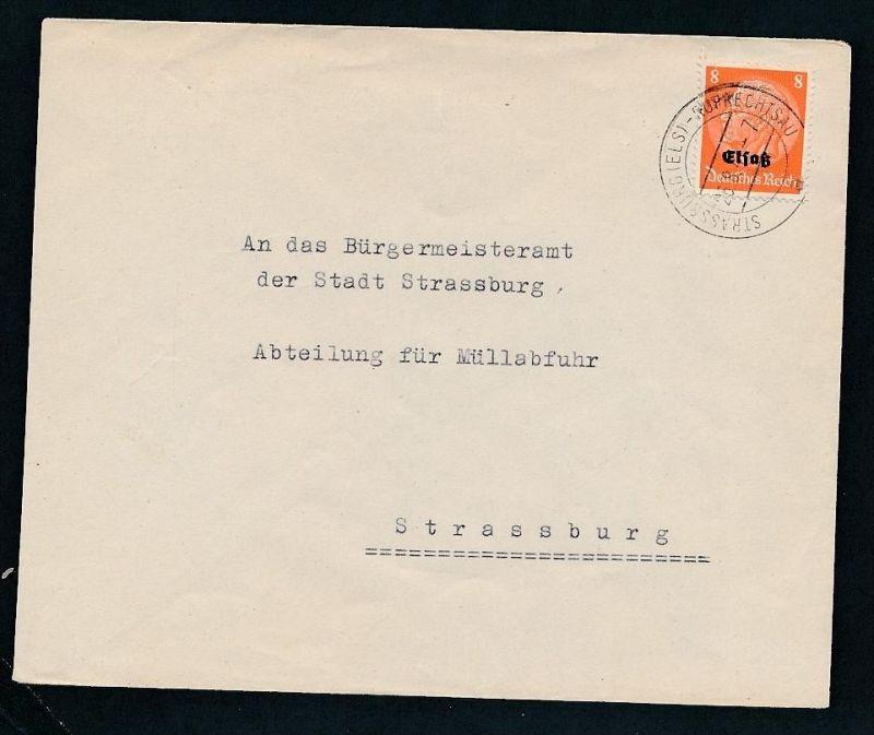 Esaß -Stempel Heimat Beleg  ( ze7059 ) siehe scan !