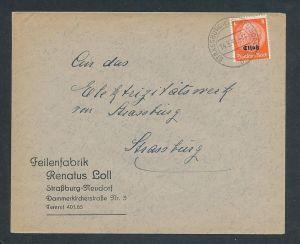 Esaß -Stempel Heimat Beleg  ( ze7057 ) siehe scan !