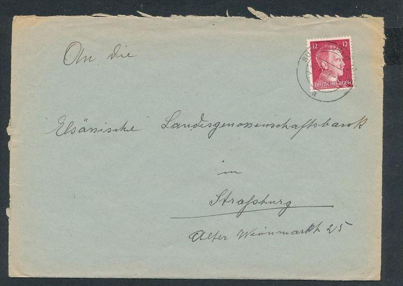 Esaß -Stempel Heimat Beleg  ( ze7054 ) siehe scan !