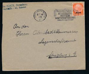 Esaß -Stempel Heimat Beleg  ( ze7052 ) siehe scan !