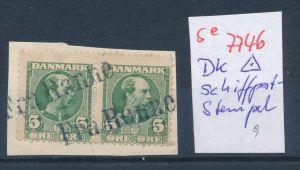 DK-Schiff Post Stempel....( se7746 ) siehe scan !