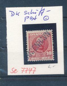 DK-Schiff Post Stempel....( se7747 ) siehe scan !