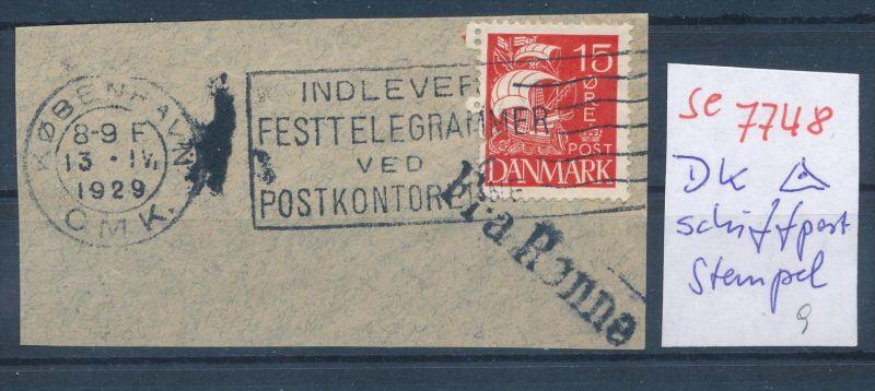 DK-Schiff Post Stempel....( se7748 ) siehe scan ! 0