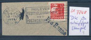 DK-Schiff Post Stempel....( se7748 ) siehe scan !