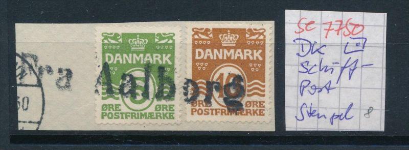 DK-Schiff Post Stempel....( se7750 ) siehe scan !