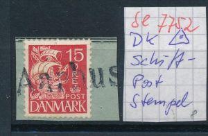 DK-Schiff Post Stempel....( se7752 ) siehe scan !