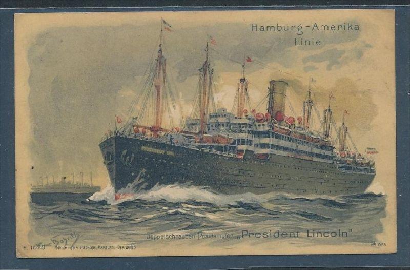 D.-Reich See Post  Karte    (t9918  ) siehe Bild 1