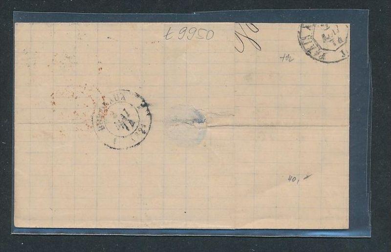 D.-Reich  Strassburg  netter Stempel Beleg   (t9950  ) siehe Bild 1
