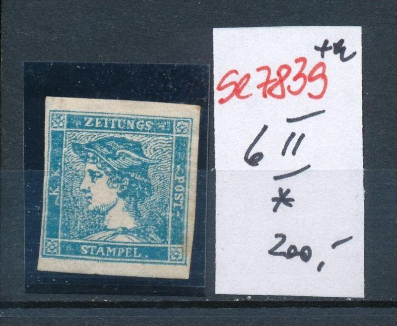 Österreich Nr. 6 II *  (se7839   ) siehe Bild 0