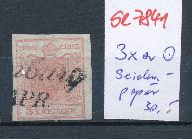 Österreich Nr. 3xa Seiden Papier ?  (se7841   ) siehe Bild 0