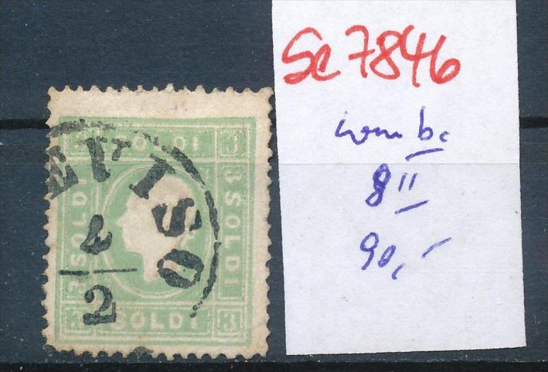 Österreich Lombardei Nr. 8 II  o(se7846   ) siehe Bild 0