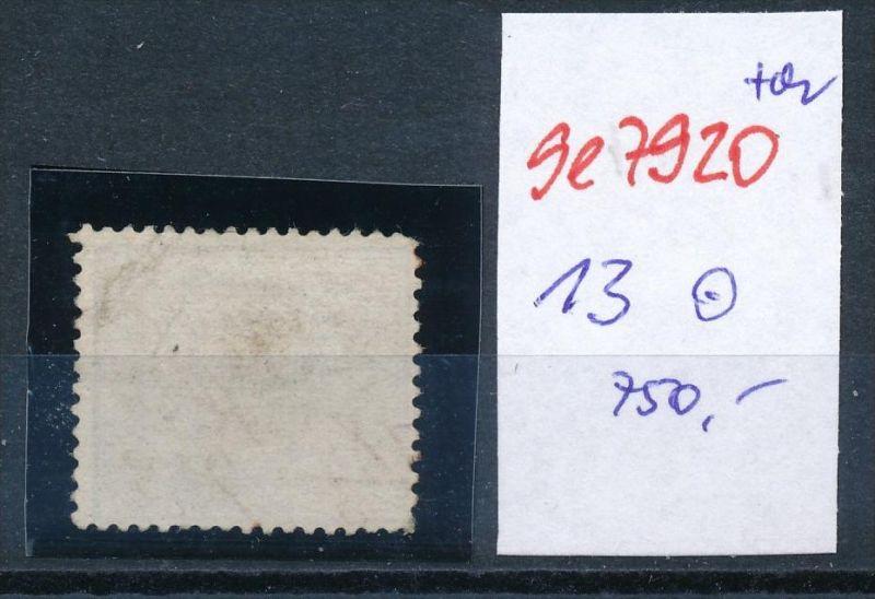 D.-Reich Nr. 13  -Federstrich  (se7920   ) siehe Bild  !! 1