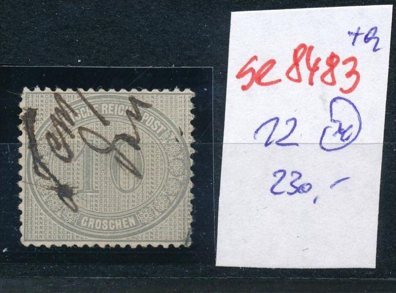 D.-Reich Nr. 12  -Federstrich  (se8483  ) siehe Bild  !! 0