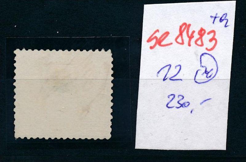 D.-Reich Nr. 12  -Federstrich  (se8483  ) siehe Bild  !! 1