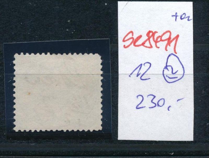 D.-Reich Nr. 12  -Federstrich  (se8491  ) siehe Bild  !! 1