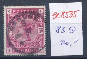 UK  Nr.  83  -Stempel...  (se8535  ) siehe Bild  !!