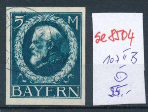 Bayern Nr. 107 II B   o    (se8504  ) siehe Bild  !!