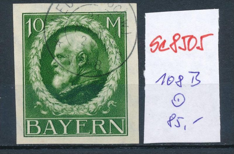 Bayern Nr. 108  II B   o    (se8505  ) siehe Bild  !!
