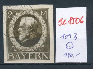 Bayern Nr. 109  II B   o    (se8506  ) siehe Bild  !!
