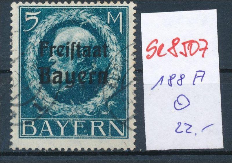 Bayern Nr. 188 A   o    (se8507  ) siehe Bild  !! 0