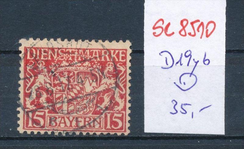 Bayern Nr. D 19yb   o    (se8510  ) siehe Bild  !! 0