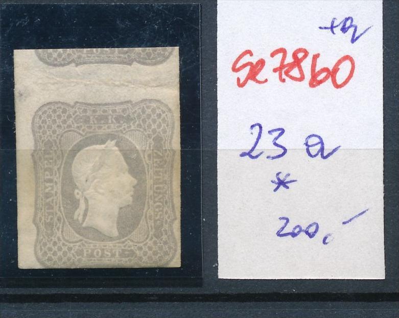 Österreich Nr. 23a   *..    (se7860  ) siehe Bild  !! 0