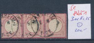 D.-Reich Nr. 25  3er Streifen ... (se8251  ) siehe Bild  !!