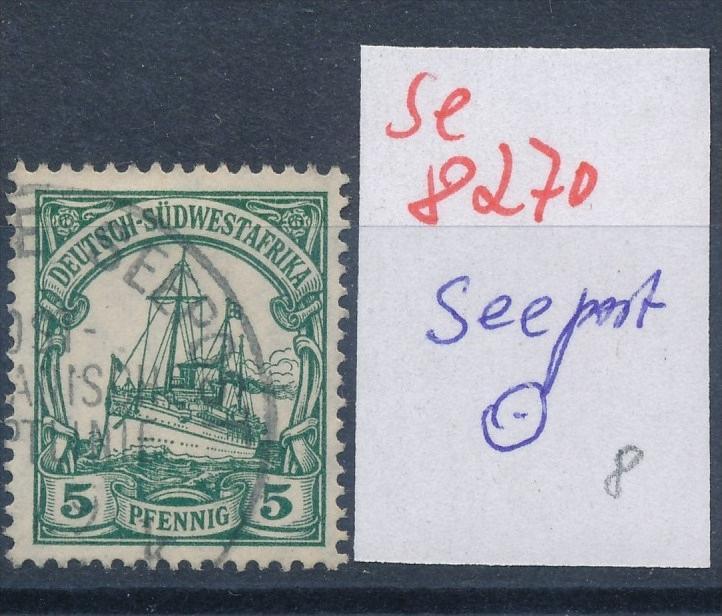 DSWA  Seepost -  netter Stempel... ... (se8270  ) siehe Bild  !! 0